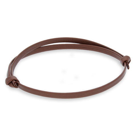 Gigi Brown | Leather Bracelet