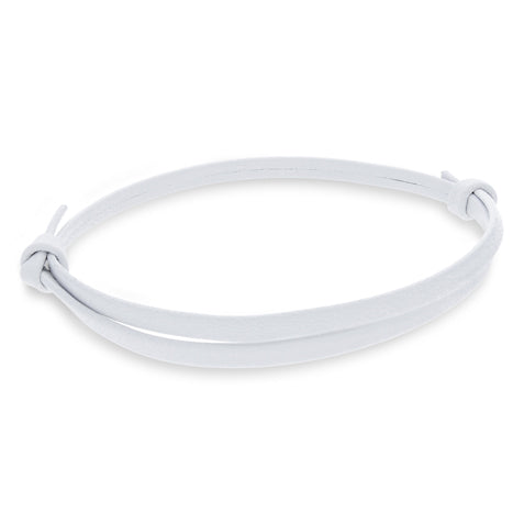 Gigi White | Leather Bracelet