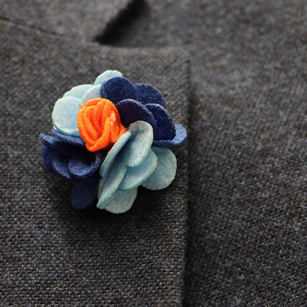 Goyden Blue and Orange | Lapel Pin