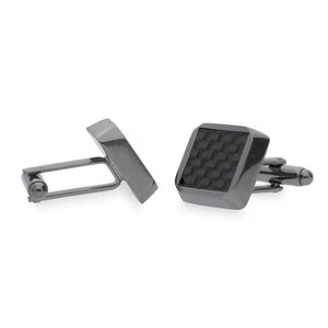 Hart Black | Carbon Fibre Cufflinks