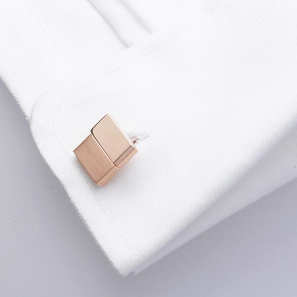 Haute Rose Gold | Metal Cufflinks