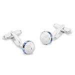 Hodder Blue | Swarovski® Crystal | Cufflinks
