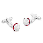 Hodder Red | Swarovski® Crystal | Cufflinks
