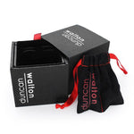 All our cufflinks arrive in a luxury branded gift box and a free pouch to keep your cufflinks safe on their travels.