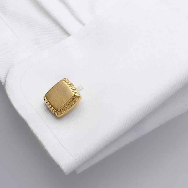 Rams Gold Plated Cufflinks