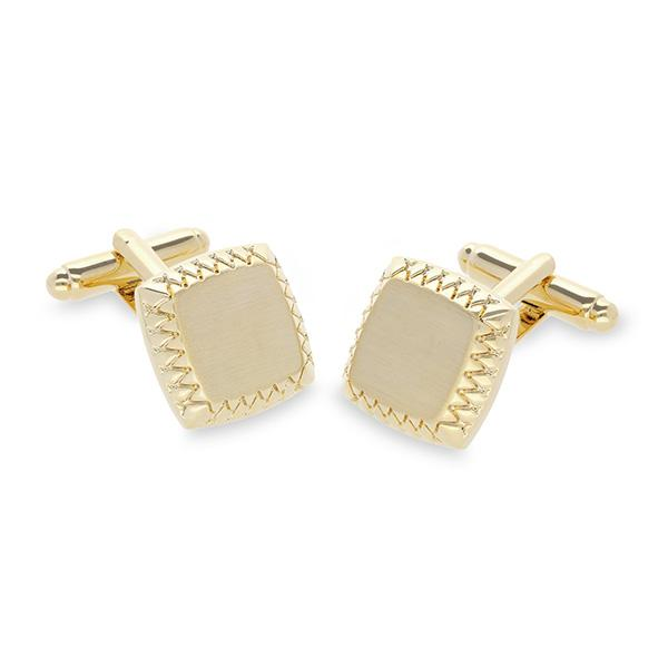 Rams Designer Gold Plated Cufflinks