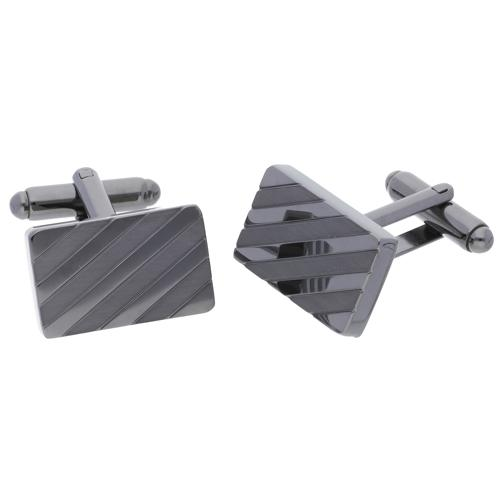 Tech Gunmetal | Metal Cufflinks