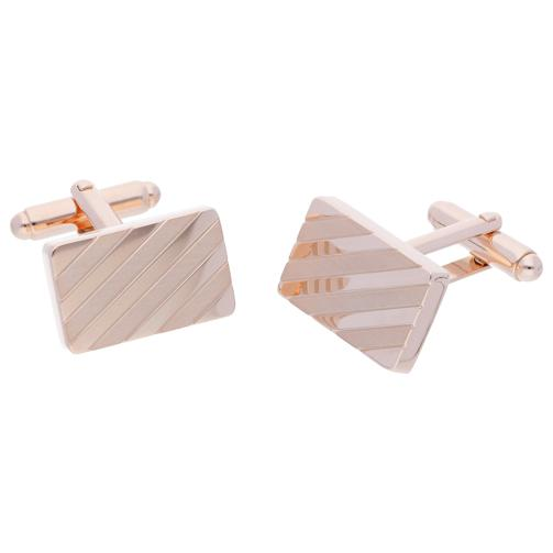 Tech Rose Gold | Metal Cufflinks