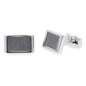 Wood Grey | Wood Cufflinks