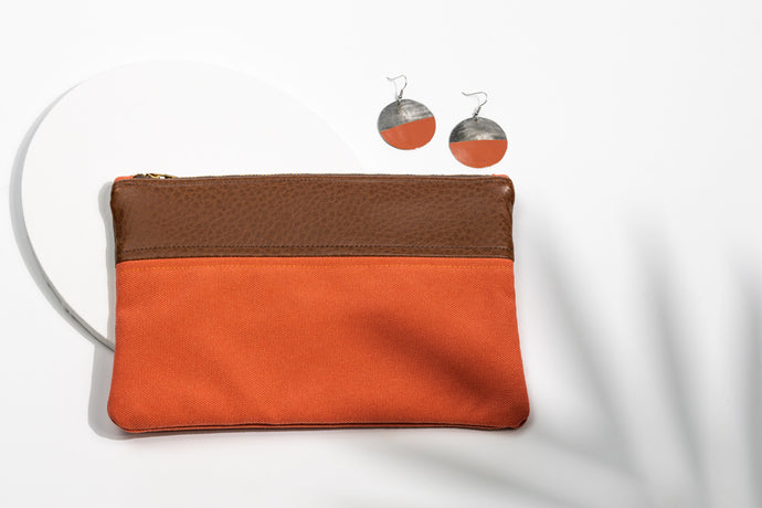 Zanmi Accessory Bag+Bottle Cap Earrings