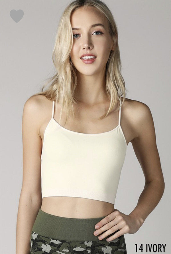 Bandeau With Straps Tops