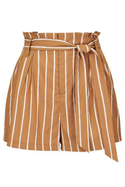 Bishop & Young Striped Paperbag Short Bottoms