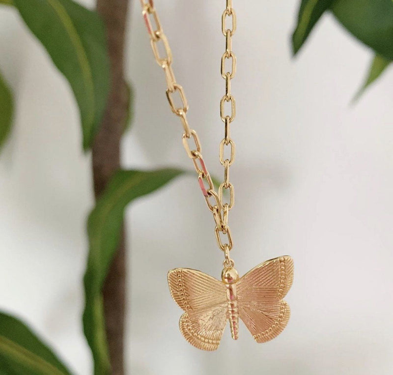 Bracha Pure Spirit Butterfly Necklace Accessories