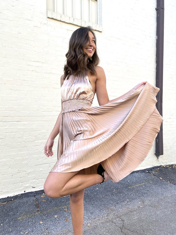Bronzed Beauty Dress Dresses