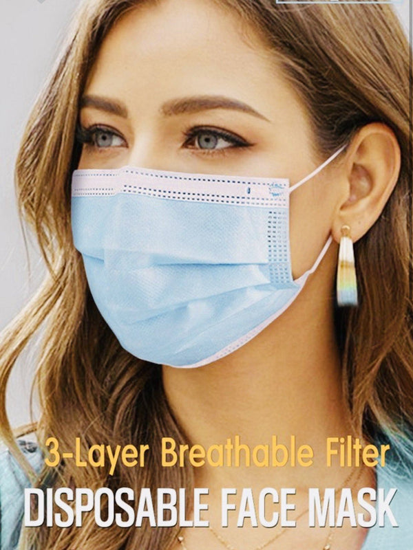 Disposable Face Mask (set of 20) Masks