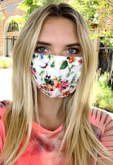 Garden Face Mask w/ Filter Insert Masks