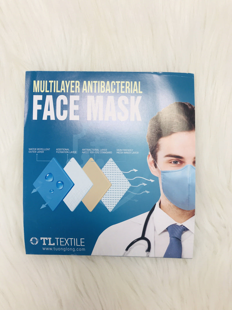 Go Cocks Multilayer Antibacterial Face Mask Masks
