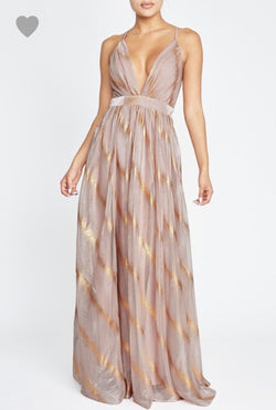 Golden Sunrise Gown Dresses