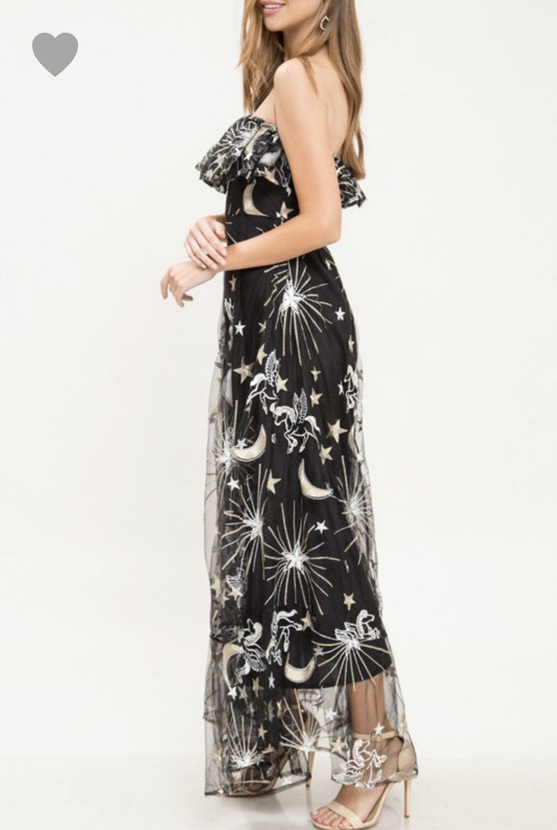 Grecians In The Galaxy Gown Dresses