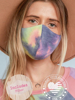 Hippie Face Mask w/ Insert Masks