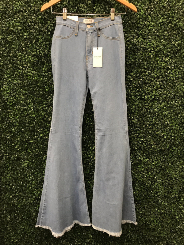 Judy Blue High Waist Flare Jean Bottoms