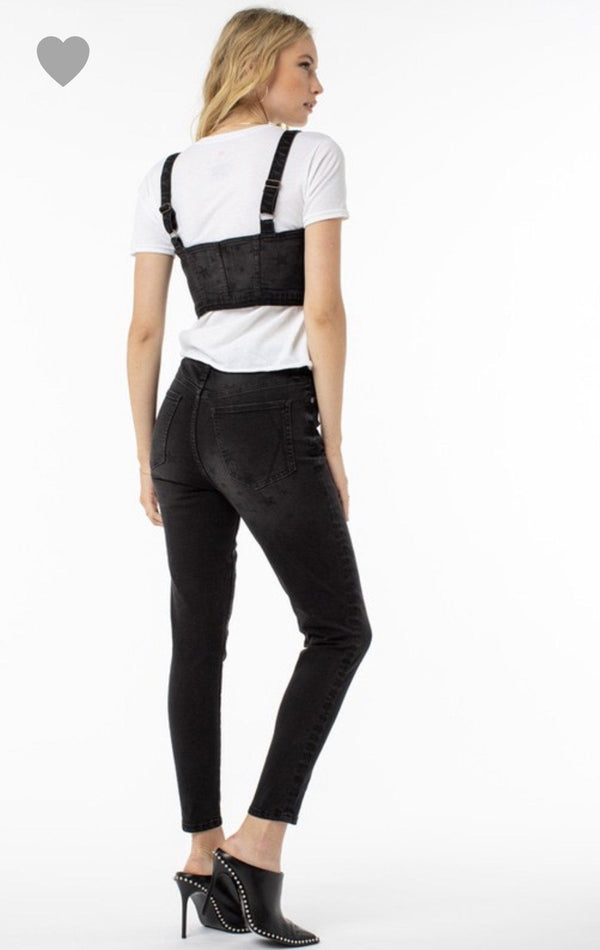 Kendall + Kylie Star Skinny Denim Bottoms