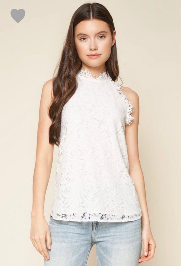 Lady In Lace Blouse Tops