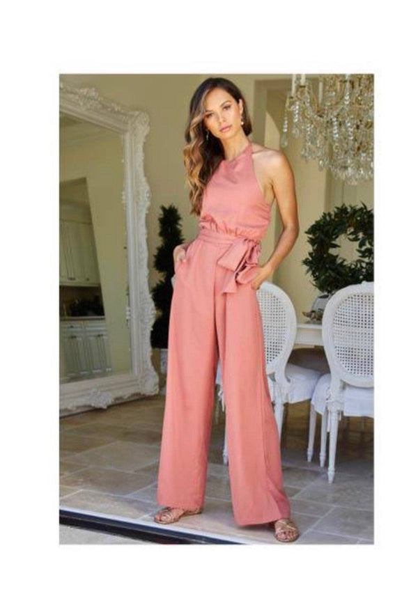 Margot Halter Jumpsuit by Bishop & Young Playsuits