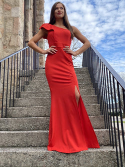 Paint The Gown Red Dresses