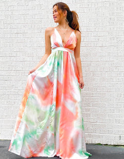 Pastel Portrait Gown Dresses