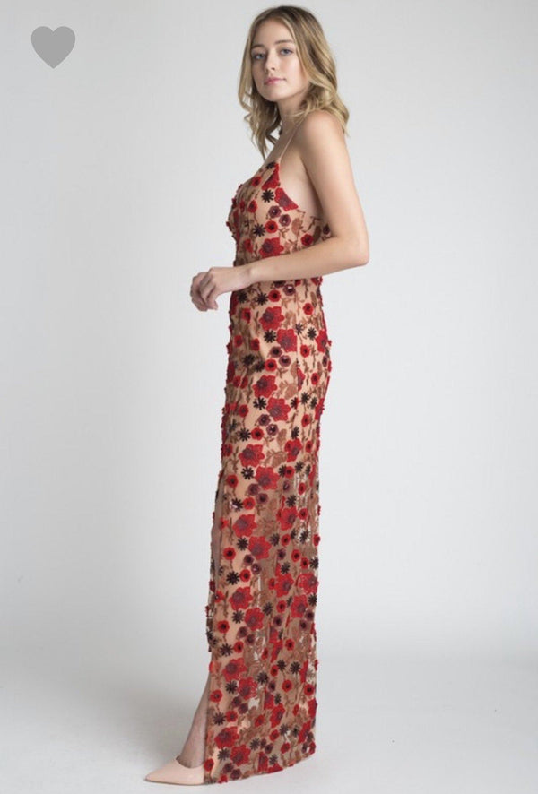 Poinsettia Gown Dresses
