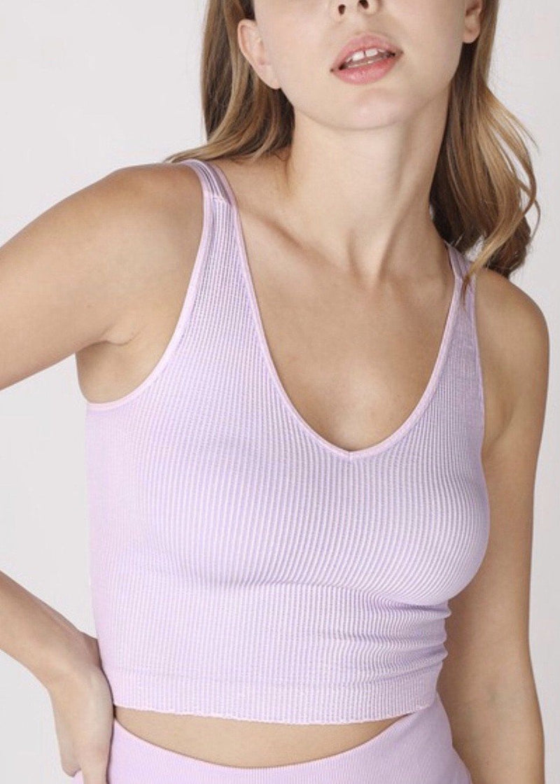 Ribbed Top Tops