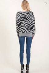 Wild Side Sweater Tops