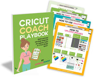 Cricut Coach Playbook: Quick and Easy One-Page Diagrams for Popular Tasks in Cricut Design Space - Digital Download