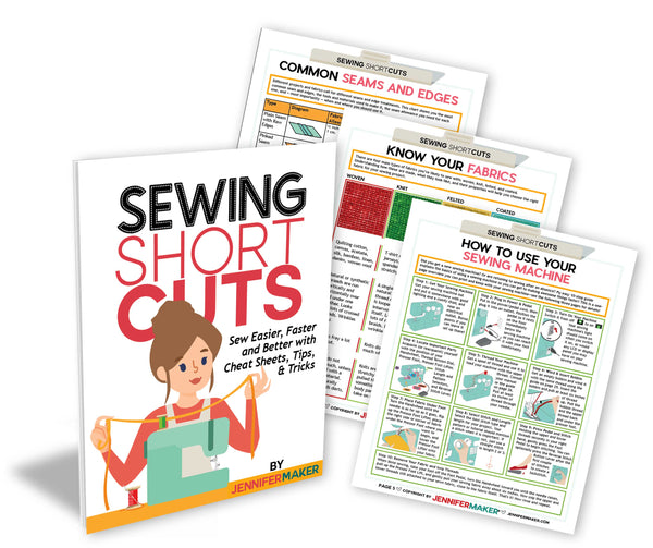 Sewing ShortCuts: Quick & Easy Sewing Cheat Sheets to Sew Easier, Faster, and Better