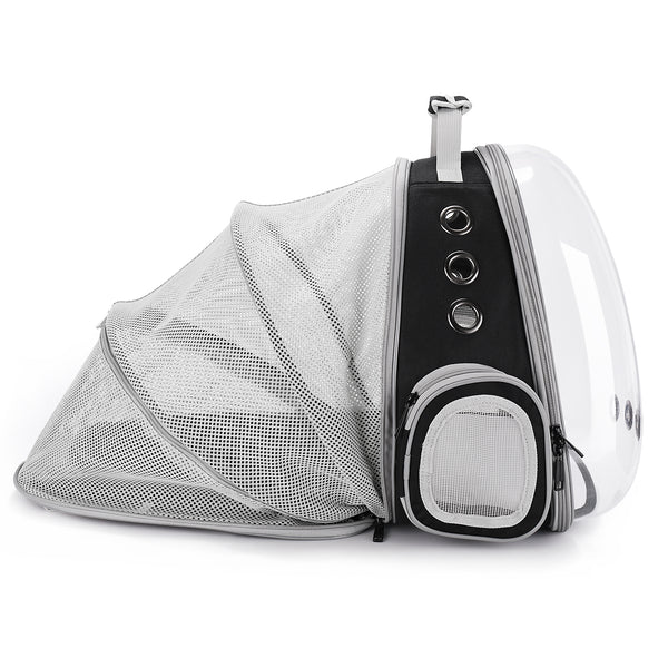 Cat Bubble Backpack with Clear Window for Hiking-Expandable with FREE MINI FAN