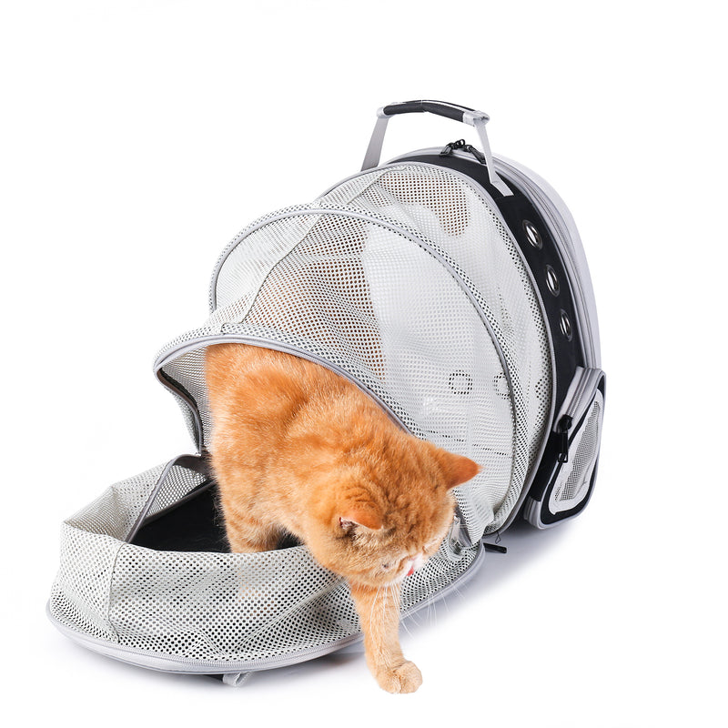 Cat Bubble Backpack with Clear Window for Hiking-Expandable