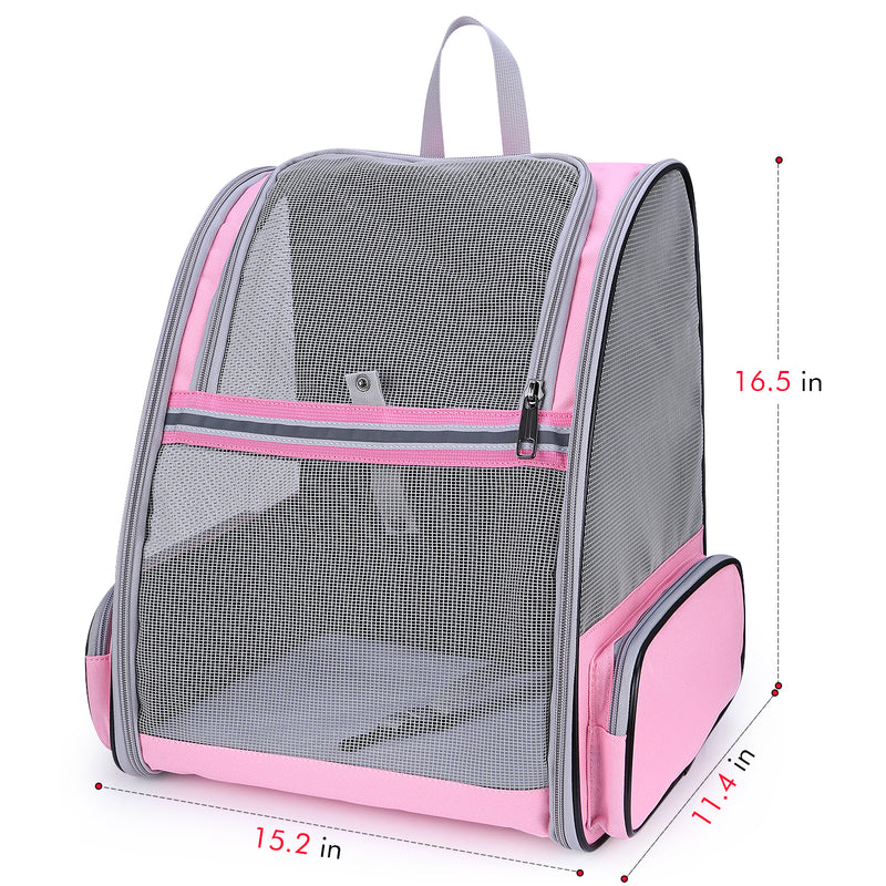 Cat Pet Carrier Fully Ventilated Style Backpack