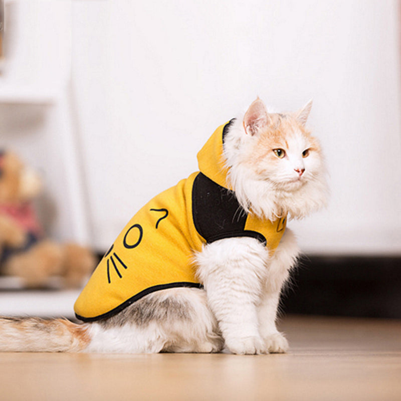 Pet Sweatshirt Cat Dog Hoodie Clothes