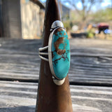 Royston Turquoise + Sterling Silver Ring • Size 8.5