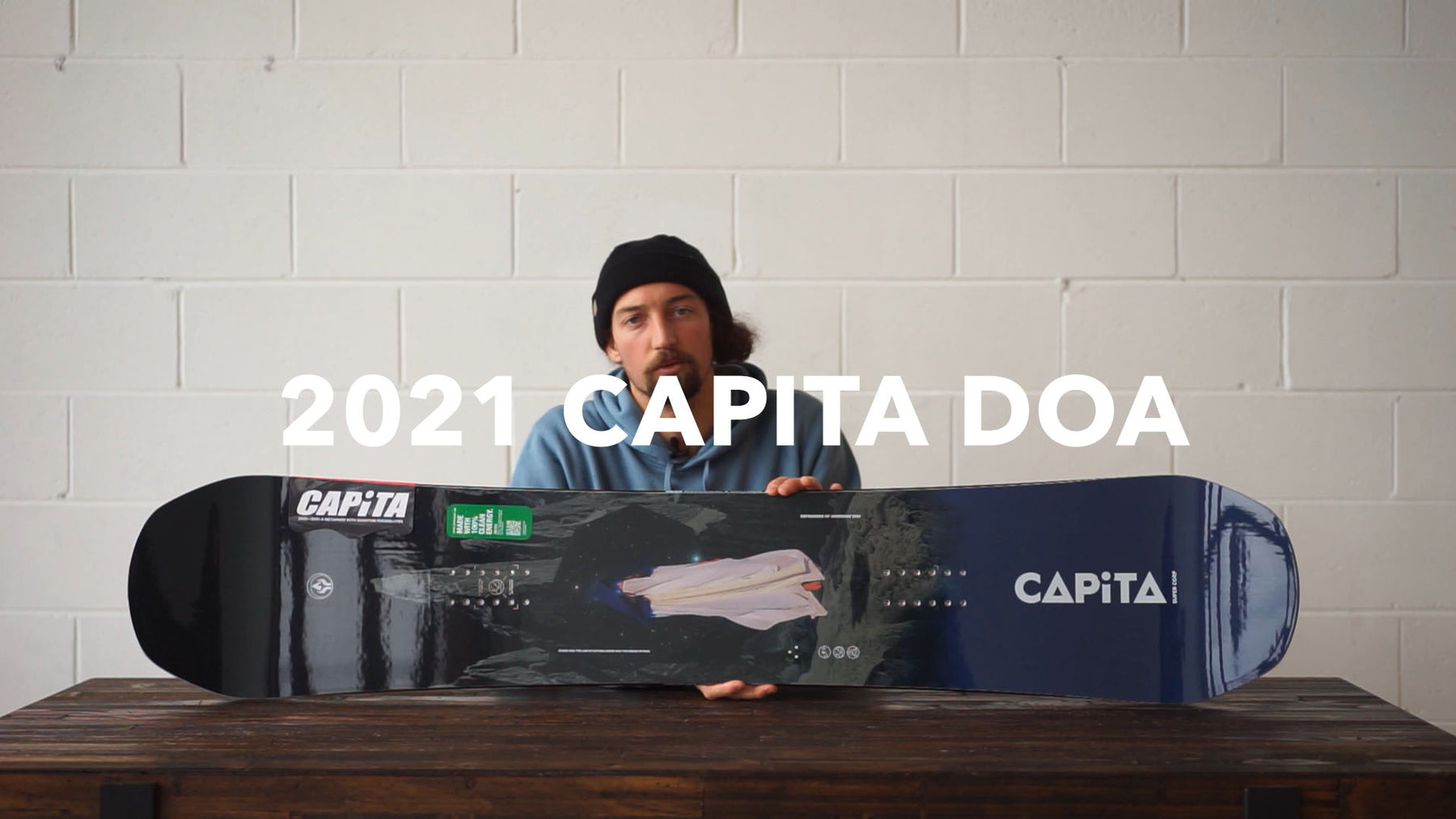 2021 Capita DOA Snowboard Review