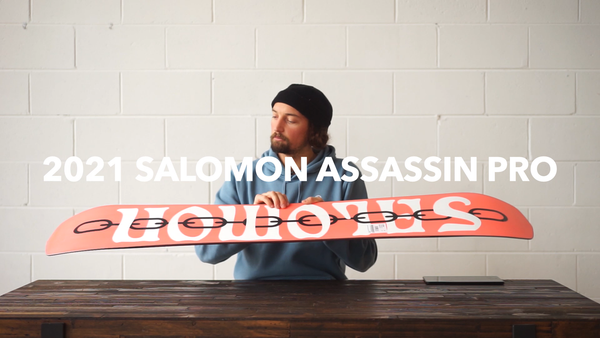 2021 Salomon Assassin Pro Snowboard Review