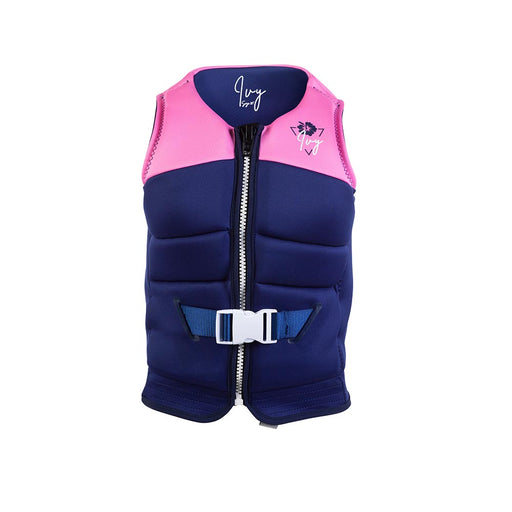 2021 Ivy Teen Lotus Vest - Flamingo Pink