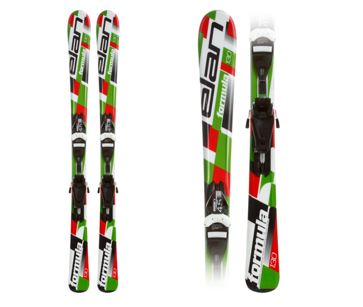 Elan Formula QT Snowskis with EL 4.5 Bindings