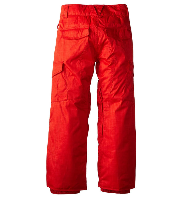 Quiksilver Porter Youth Pant - Fiery Red