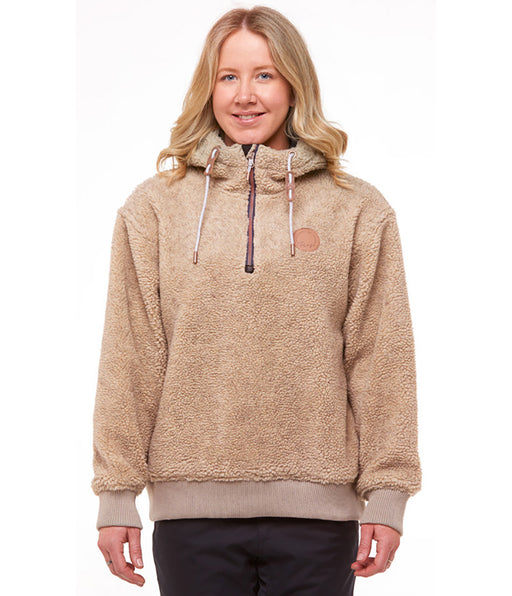ROJO SHERPA 1/4 ZIP JACKET - Welcome Wake & Snow