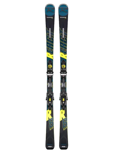 2021 Rossignol React R8 HP Ski With Nx Konect Aw Bindings