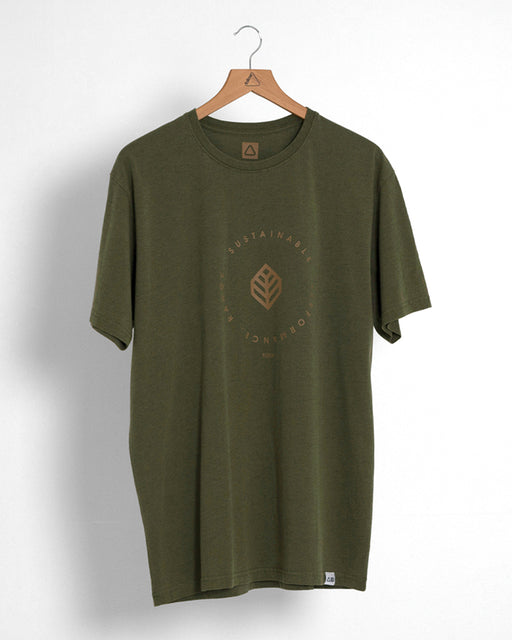 2021 Follow S.P.R Mens Tee - Army