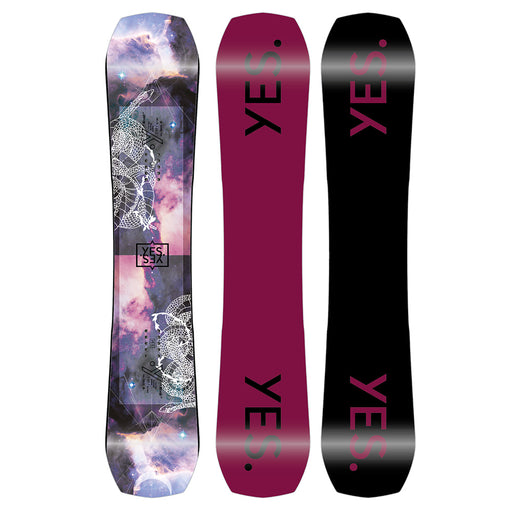 2022 YES RIVAL WOMENS SNOWBOARD