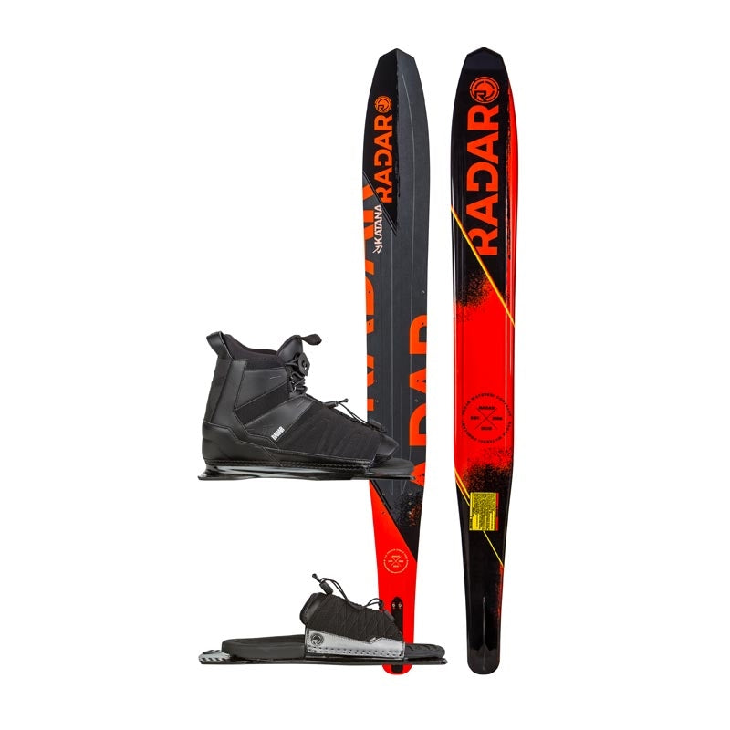 2017 RADAR KATANA SKI W/PRIME BOOT and ARTP 65